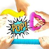 OleOletOy Pop Tubes Sensory Fidget Toy for