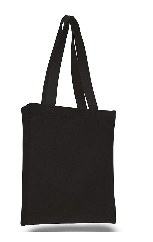 即納!最大半額! Small Heavy (Full B01A3I4NKQ Side Canvas Tote Bags (Full Side and Bottom Gusset) (Black) by Full side and bottom gusset B01A3I4NKQ, パソコン周辺機器 Bangshop:1d3219b9 --- arianechie.dominiotemporario.com