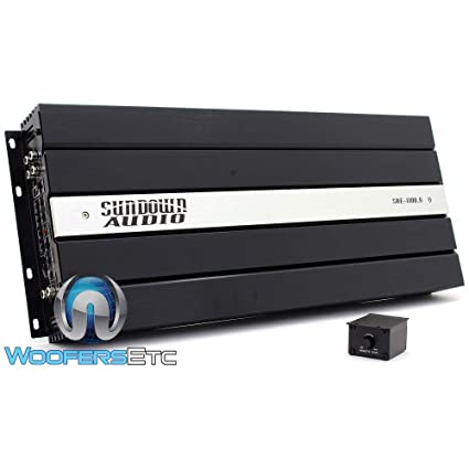 Sundown Audio SAE-1100 5-5 Channel Car Amplifier: Amazon ca