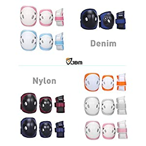 JBM Kind Kinder Skating Knie Pads Elbow Pads Handgelenk Guard für BMX...