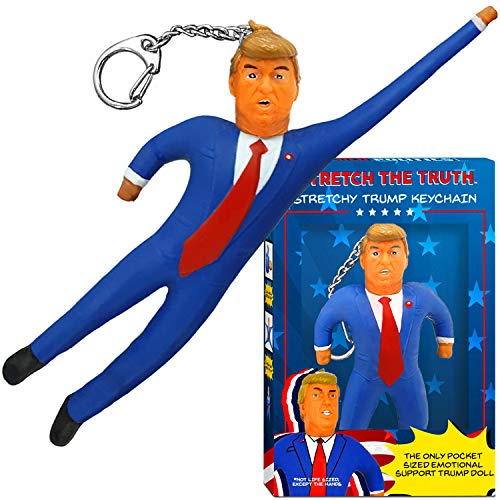 Stretched Politics Donald Trump - Llavero elástico - Regalos ...