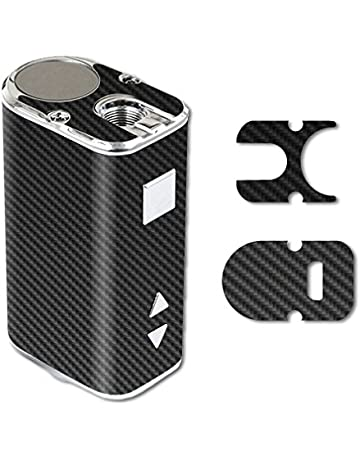 MightySkins Skin for Eleaf iStick 10W Mini – Carbon Fiber | Protective, Durable, and