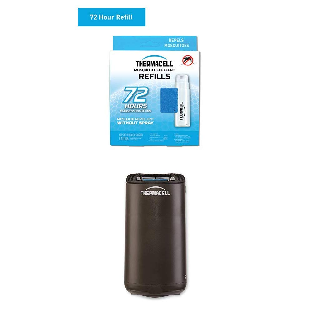 Thermacell Graphite Pato Shield and 72-Hour Refill Combo