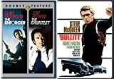 Steve & Clint Cops Dirty Harry Enforcer / Gauntlet + Bullitt DVD 3 Feature movie set