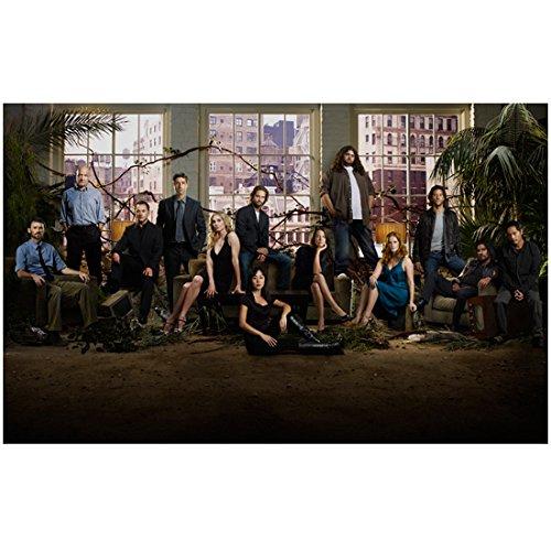 Lost Daniel Faraday, John Locke, Ben Linus, Jack, Juliet, Sawyer, Sue Kwon, Kate, Hurley, Charlotte, Desmond, Sayid, Miles Posing in Window Background 8 x 10 inch photo