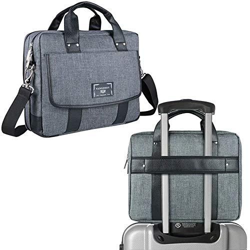 11.6 to 12.3 Inch Laptop Messenger Bag Briefcase Fit for HP Chromebook, Envy x2, Spectre x2, Elite x2, Elitebook x360, Pro x2, Probook x360, Stream 11