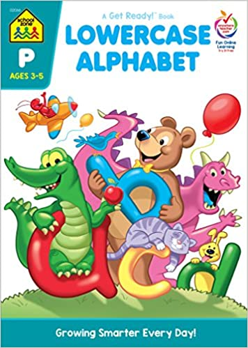 Amazon Lowercase Alphabet Workbook Ages 3 5 9780938256663 Barbara Gregorich School Zone Staff Joan Hoffman Robin Boyer Books