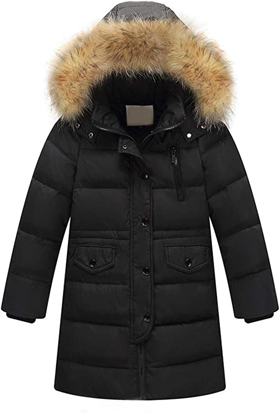 ZSHOW Boys and Girls Winter Warm Coat Padded Puffer Jacket