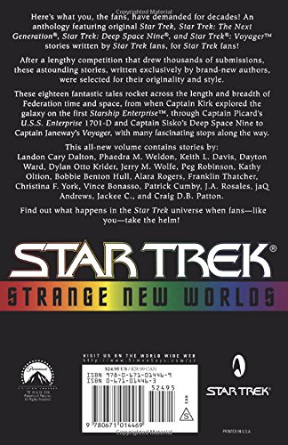 Strange New Worlds Star Trek Dean Wesley Smith Paula M Block
