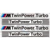 TSJPN BMW Twin Power Turbo ステッカー 4枚セット