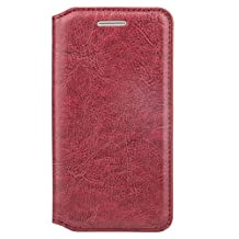 Executive Designed Burgundy Slim Wallet Flip Case for HTC One A9