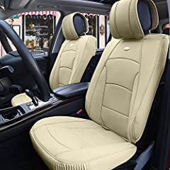 We've stepped up our game with our new ultra comfort leatherette seat covers.  They're unlike any other, designed to give you a high class aesthetic while the exceptionally plush underlining provides you with supreme comfort. Top quality faux...