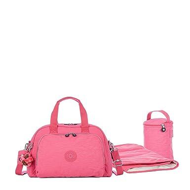 d07497a13 Bolsa Kipling Camama Rosa: Amazon.com.br: Amazon Moda