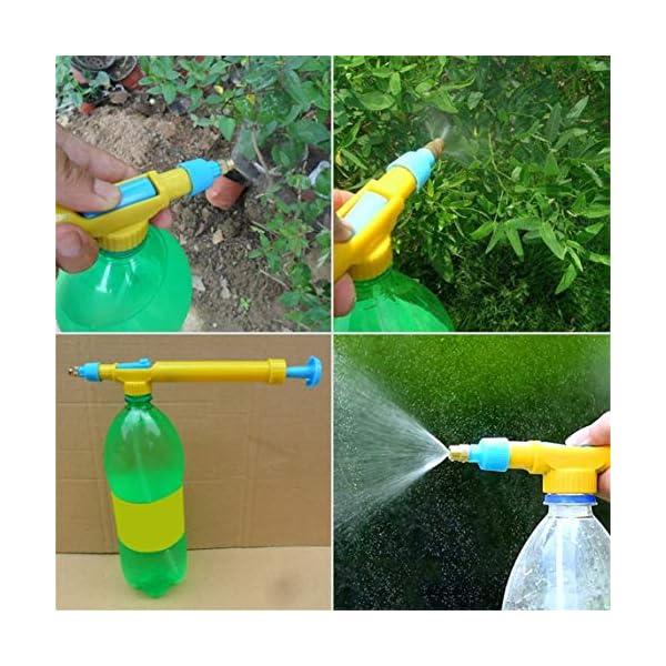 Footprintse Mini Succo Bottiglie Interfaccia Carrello Pistola Spruzzatore Testa Pressione dell'Acqua Plastica Acqua… 1 spesavip