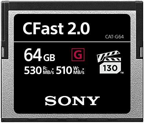 Sony CAT-G64 64GB High Performance CFast G Series 2.0 Memory Card
