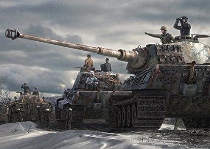 Amazon com: Military Motivational Tanks of World War II Art Print