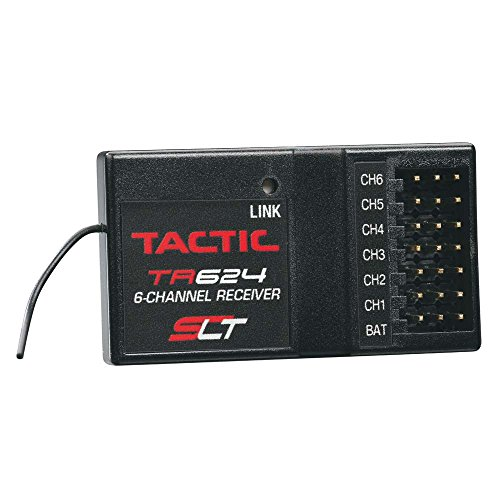 Rc Receiver (Tactic TR624 6-Channel SLT 2.4Ghz Receiver)