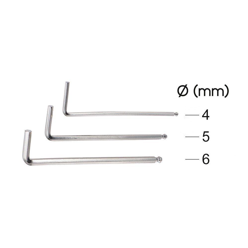 ZUINIUBI Guitar Care Cleaner Tool Set Repair Wrench Files Ruler Maintenance Tech Kit with Storage Bag 10pcs by ZUINIUBI (Image #3)