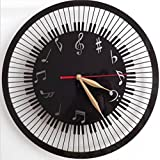 Sucastle Bell, accented characters, Creative, Wall Clock, personality (no battery) NCDB