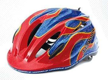 Prowell K800 - Casco de ciclismo infantil fuego
