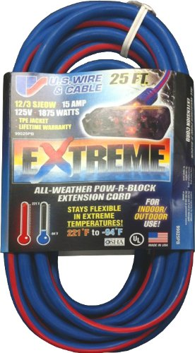 Triple Outlet three Conductor Grounded EXTREME All-Weather S