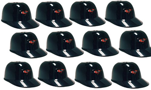 fan products of MLB Mini Batting Helmet Ice Cream Sundae/ Snack Bowls, Orioles - 12 Pack