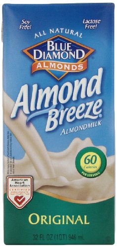 Blue Diamond Breeze Original, 32-ounces (Pack of6) by Blue Diamond Almonds