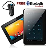inDigi Unlocked 7.0-Inch Tablet, Android 4.2, Bluetooth and Wi-Fi