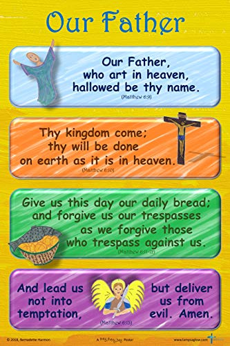 The Our Father - Classroom Poster 12