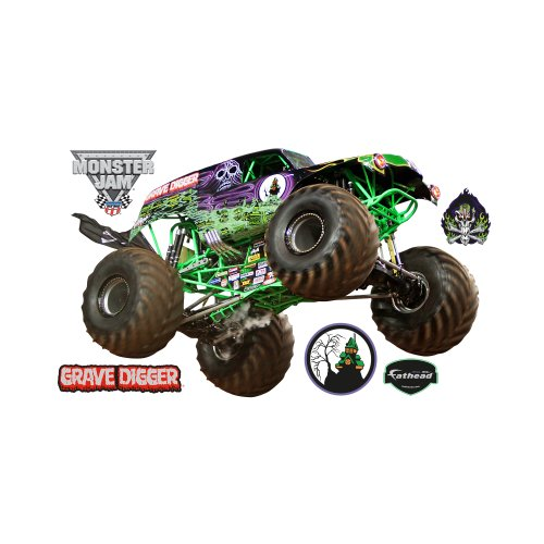 Grave Digger Wall Graphic by FATHEAD