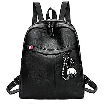 19e8002e719 Longess Fashion Cute Mini PU Leather Backpack Shoulder Bags Small Daypacks  Purse for Womens