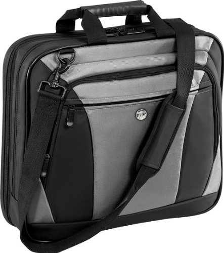 Targus CityLite Laptop Bag for 16-Inch Laptop, Black and Gray (TBT050US)
