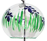 NIHON ICHIBAN Japanese Handmade Glass Wind Chime with Painting of Iris Flowers Review