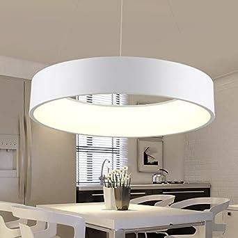 BRILIFE Kücheninsel Pendelleuchten Moderne Pendelleuchte Acryl Ring ...