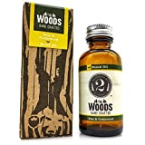 The Woods Man Beard Oil - Pine & Cedarwood - Beard Oil & Conditioner Fragranced with Essential Oils by The 2 Bits Man (1 oz.)