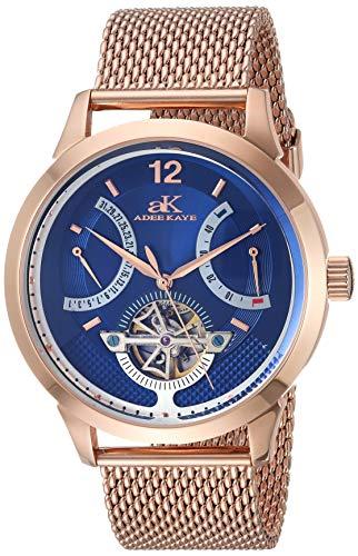 Adee Kaye Automatic Watch (Model: AK2241-MRG/BU-Mesh