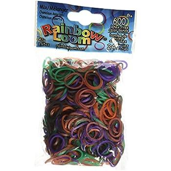Amazoncom Rainbow Loom Chameleon Mood Change Rubber Bands With 24