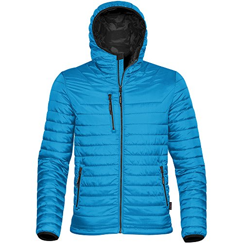 Stormtech Shell Tone Gravity Mens Jacket Black Thermal Blue Two Electric r4CrwX