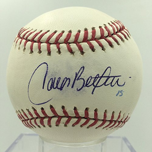 Carlos Beltran Signed Autographed Official Major League Baseball PSA DNA COA