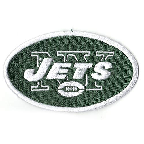 Official New York Jets Iron-On Team Jersey Patch