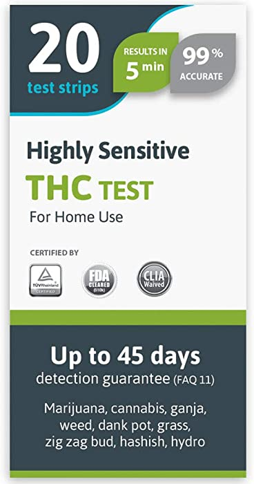 Top 10 At Home Weed Test By Care Check