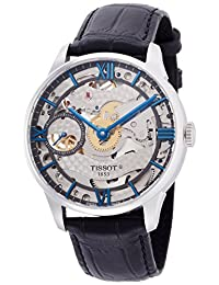 Tissot Men's T-Classic T099.405.16.418.00 Silver Leather Swiss Automatic Watch