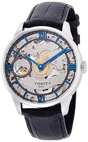 Tissot Men's T0994051641800 Chemin Des Tourelles Squelette Swiss Mechanical Watch (Swiss Mechanical Automatic)