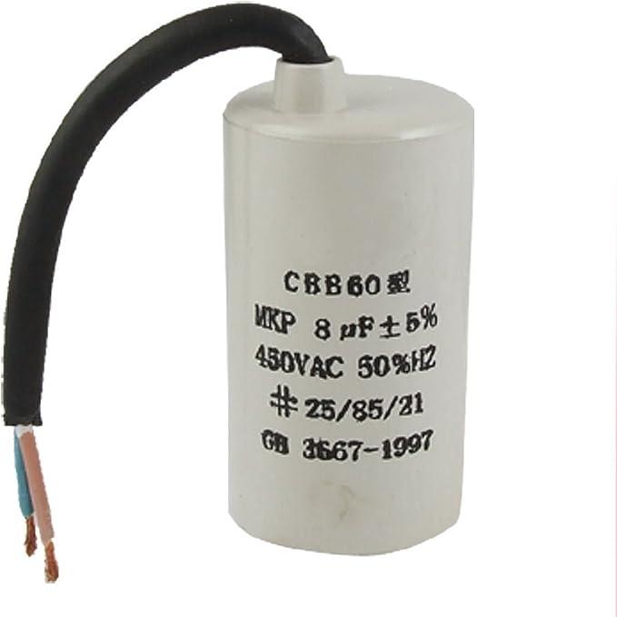 Kondensator Betriebskondensator 3uF 450VAC CBB61  Motorkondensator