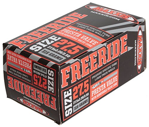 Maxxis PV Freeride RVC Bicycle Tube, 27.5 x 2.2-2.5""