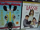 Lassie , Racing Stripes : Family Movie 2 Pack Collection