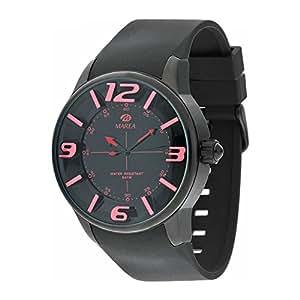 Marea 35174-10 - Reloj para hombres, correa de resina color negro