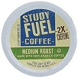 STUDY FUEL COFFEE 42 Count Box Medium Roast K CUPS 2 x Caffeine 100% ARABICA COFFEE, Home School Stay Awake