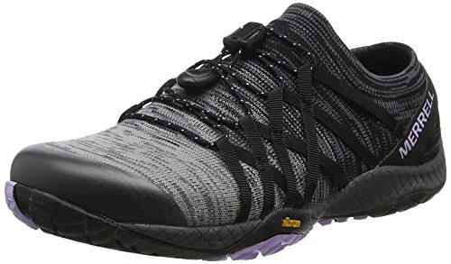 Trail Knit 4 Donna Scarpe Nero Glove Merrell black Da Running wFUxg4ZEqX