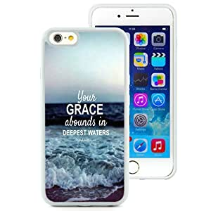 Bible Verse White Fantastic Recommended Customized iPhone 6 4.7 Inch TPU Phone Case